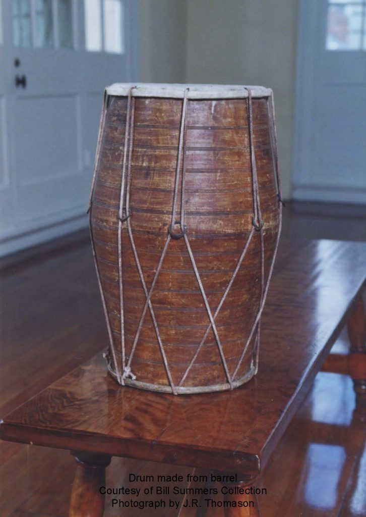 B Barrel Drum, Photo: J.R. Thomason