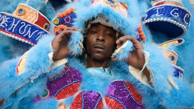 Mardi Gras Indians, New Orleans Music; Image Credit: americanfestivalsproject.net