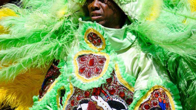 Mardi Gras Indians Movement Customs