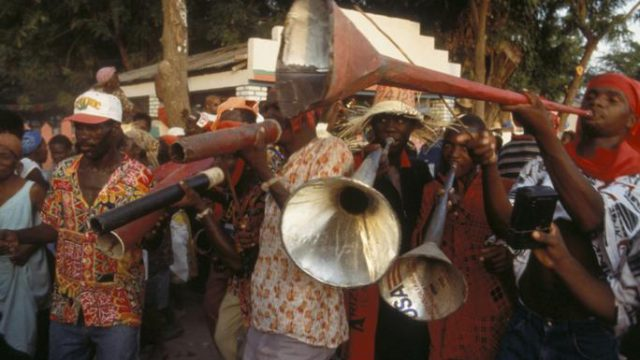 Haitian Rara and Cuban Congas and Comparsas