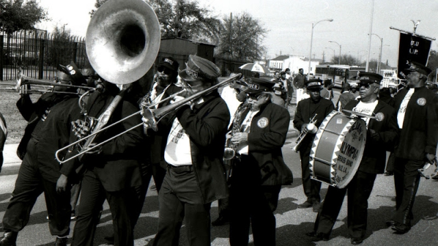 Brass Bands, Jazz Funerals, and Second Lines