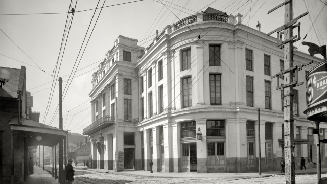 French Opera House (ca. 1900): French and Creole In Louisiana