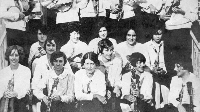 White Women Musicians of the City