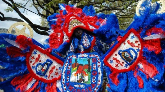 Mardi Gras Indians: Languages of Louisiana