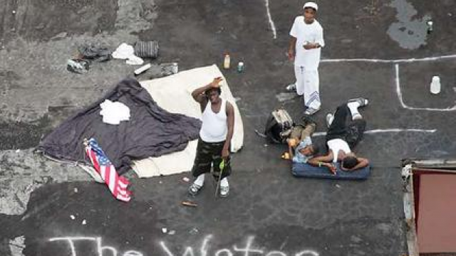 New Orleans hiphop and politics: Hurricane Katrina