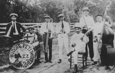 Buddie Petit's band in Mandeville, LA (circa 1920): The Creation of Jazz in New Orleans 4