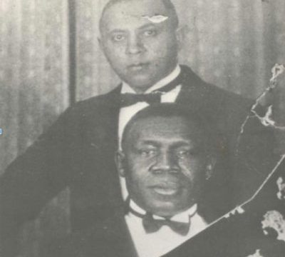 Pianist Manuel Manetta (top) with Oscar Celestin (1925): The Creation of Jazz in New Orleans 6