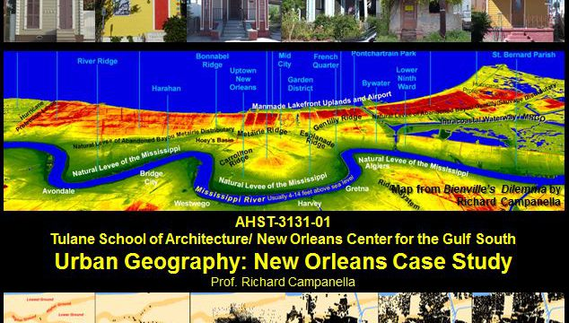 Urban Geography: New Orleans Case Study
