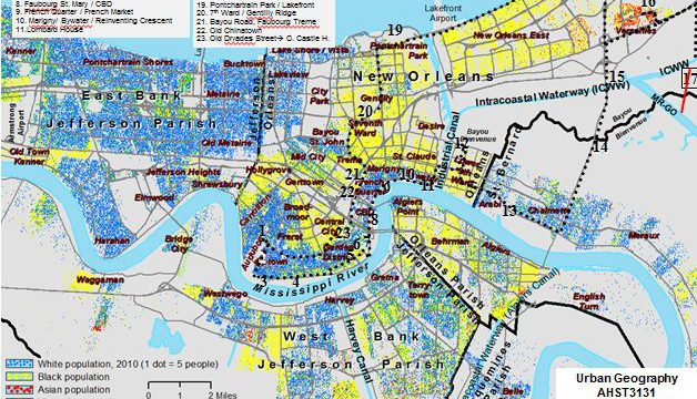 Urban Geography: New Orleans Case Study 4