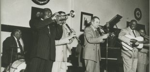 Kid Ory's Band; Courtesy of Hogan Jazz Archive, Tulane University