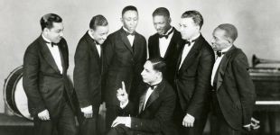 Jelly Roll Morton and His Red Hot Peppers, 1926; Image Credit: Courtesy of Hogan Jazz Archive, Tulane University